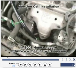 Moe Joe Cell installation in Honda Accord 2001