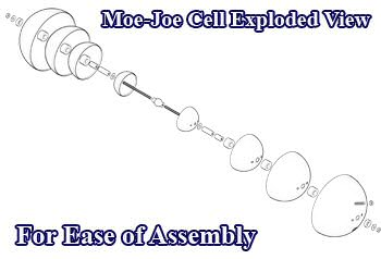 Moe Joe Cell with Exploded View