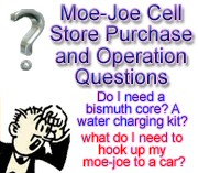 Moe Joe cell questions before buying